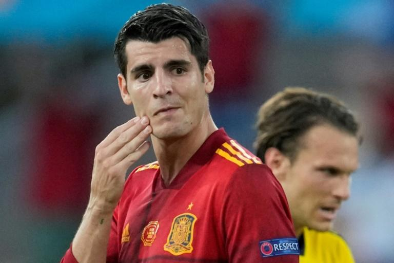 Morata and Spain were wasteful in Seville