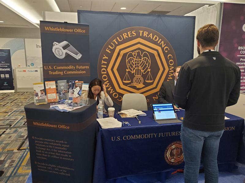 CFTC Booth at Consensus 2019