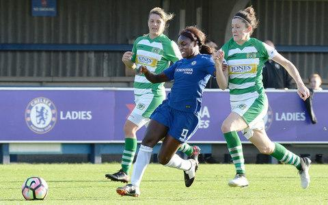Eni Aluko in action for Chelsea - Credit: PA
