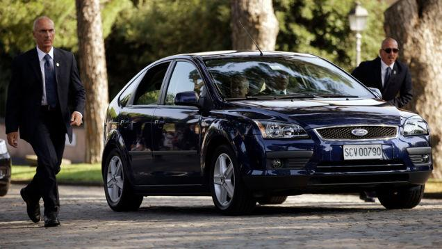 Ford Focus 2nd Generation used by Pope Francis