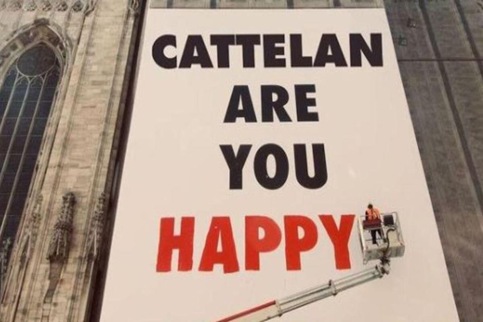 progetto happiness cattelan