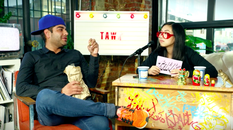 Heems and Awkwafina Have a Totally Uncensored Conversation on TAWK