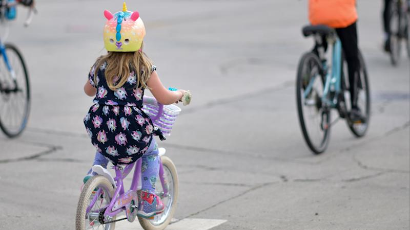 Parents at Sydney apartment block threatened with $1100 fine for 'loud' children who ride bikes in common areas