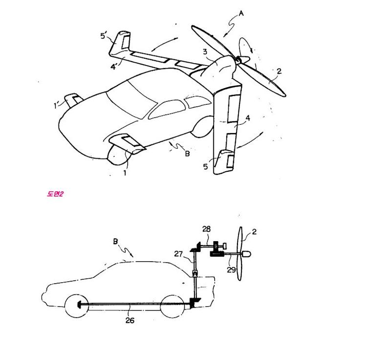 Flying car Google Patent