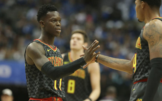 There are concerns about Dennis Schroder's maturity. (AP)