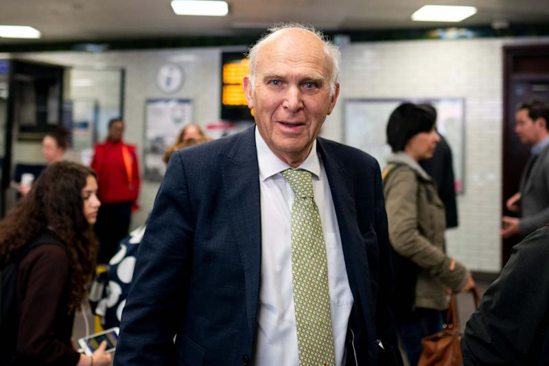 Sir Vince Cable won't stand for re-election (EPA)