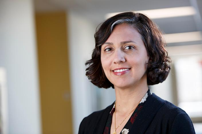 Dr Nadia Chaudhri, a psychology professor at Concordia University, is dying of ovarian cancer (Concordia University)