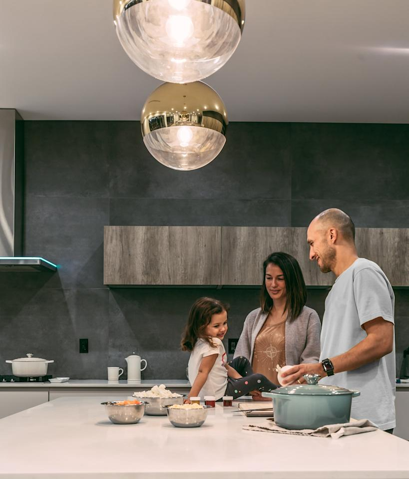 """<p>Since she'll be gone most of the day, I'm going to make the most of the time we have at home. Sitting down and eating breakfast and dinner together, and letting her help prep our family meals, will give us some much needed quality time.</p> <p><a href=""""https://www.popsugar.com/family/How-My-Family-Gets-Ready-School-Faster-46202223"""" class=""""ga-track"""" data-ga-category=""""Related"""" data-ga-label=""""https://www.popsugar.com/family/How-My-Family-Gets-Ready-School-Faster-46202223"""" data-ga-action=""""In-Line Links"""">Mornings can be extra busy</a> or chaotic, so packing her lunch and laying out her school clothes the night before will be the key to ensuring that we can take the time to enjoy each other before she heads off to school.</p>"""