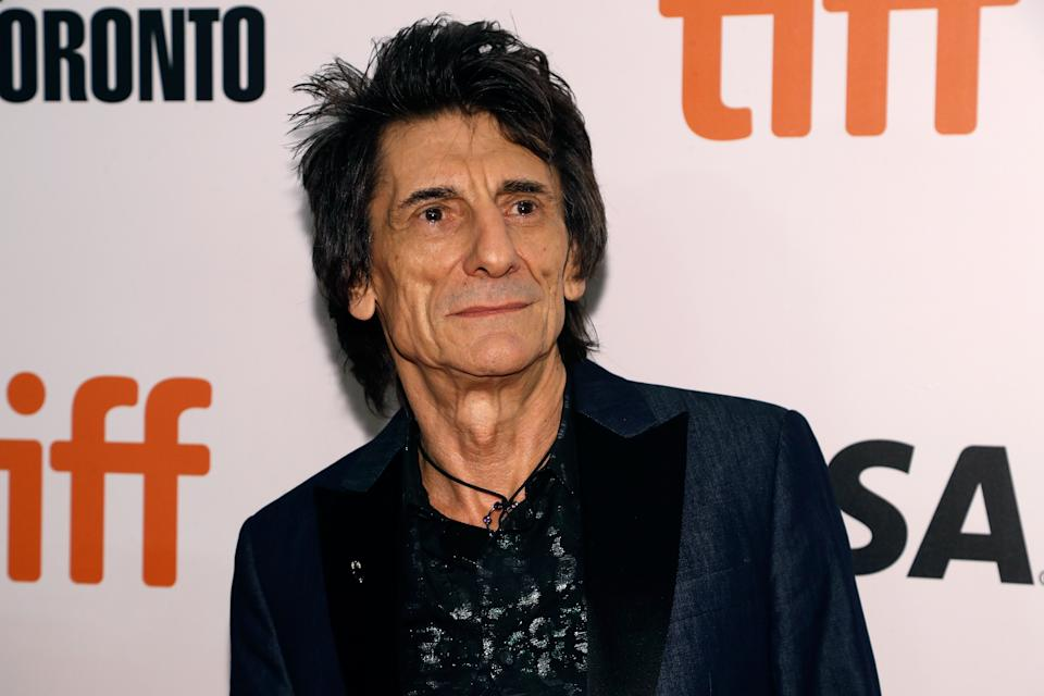TORONTO, ON - SEPTEMBER 16:  Ron Wood attends the premiere of