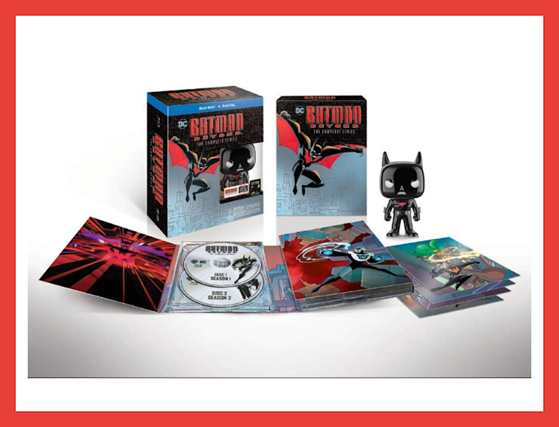 Batman Beyond: The Complete Series—Deluxe Limited Edition on Blu-ray. (Photo: Warner Bros. Animation)