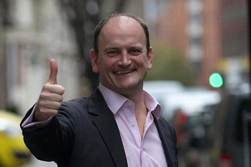 Douglas Carswell: The MP quit Ukip on Saturday (Getty Images)
