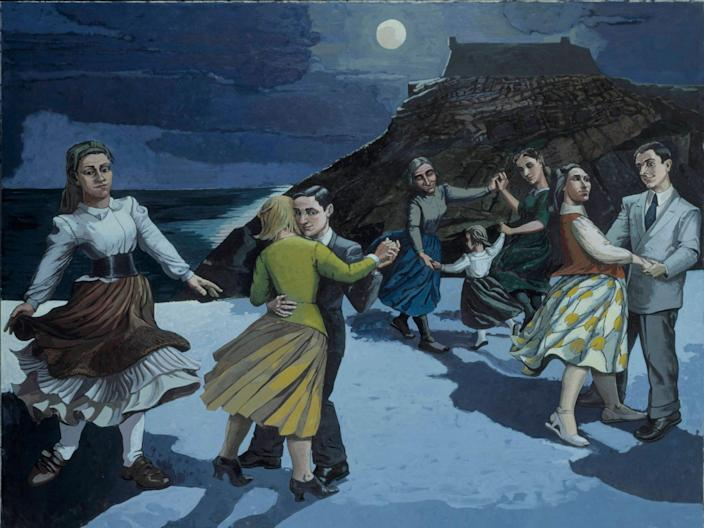 The Dance, 1988, by Paula Rego. (Tate)
