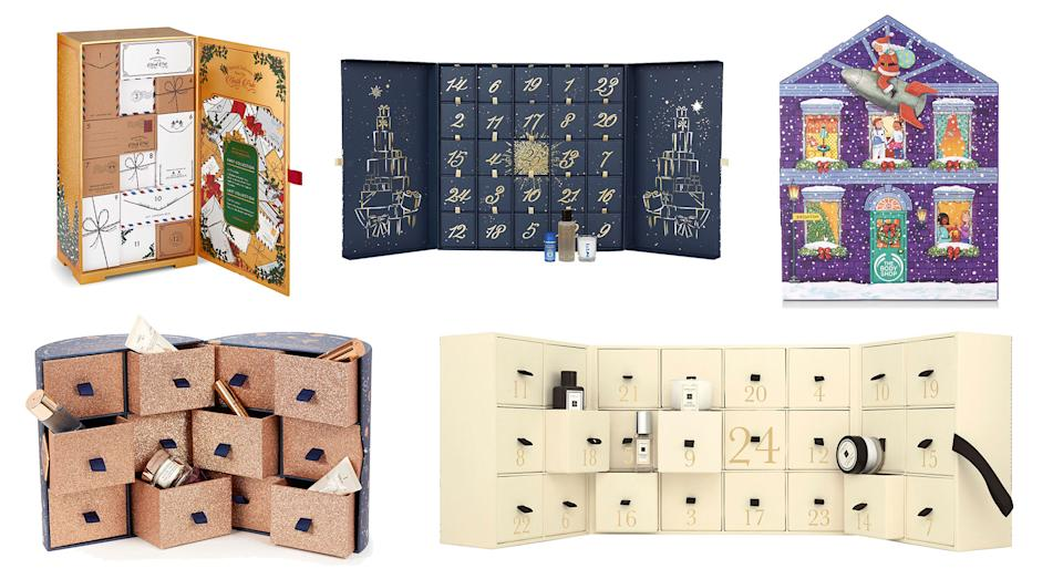 The 2019 beauty advent calendars are here [Photo: Yahoo Style UK]