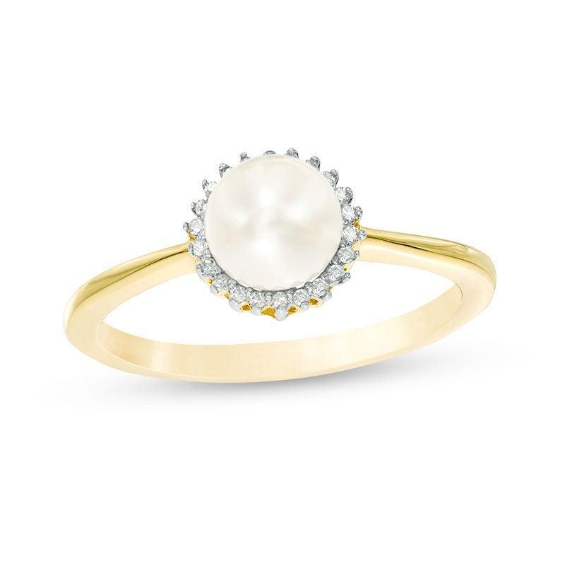 "<br><br><strong>Zales</strong> 6.0mm Cultured Freshwater Pearl and 1/20 CT. T.W. Diamond Sunburst Frame Ring in 10K Gold, $, available at <a href=""https://go.skimresources.com/?id=30283X879131&url=https%3A%2F%2Fwww.zales.com%2F60mm-cultured-freshwater-pearl-120-ct-tw-diamond-sunburst-frame-ring-10k-gold%2Fp%2FV-20155409"" rel=""nofollow noopener"" target=""_blank"" data-ylk=""slk:Zales"" class=""link rapid-noclick-resp"">Zales</a>"