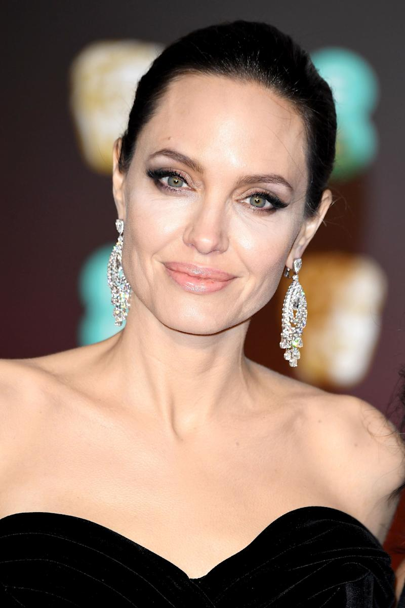 At the BAFTA Awards held at Royal Albert Hall on Feb. 18 in London.