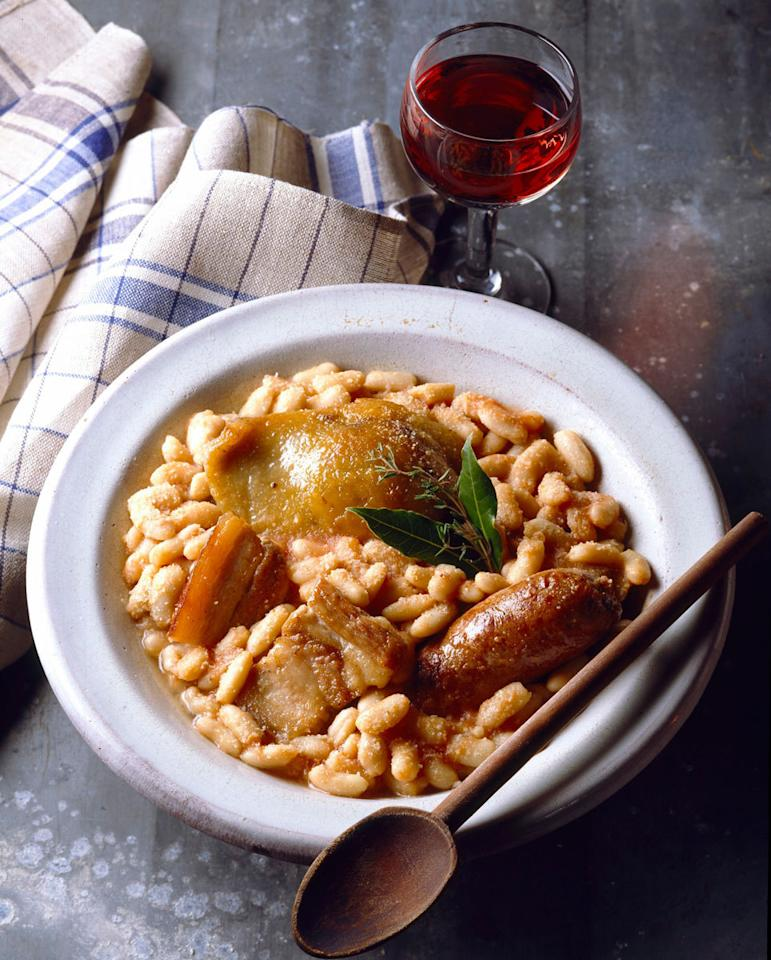"<p><b>Philippe Bertineau, Executive Chef, <a href=""http://benoitny.com/"">Benoit</a>, New York City</b><br />""A humble French dish like cassoulet speaks to the season. It is a classic meal of dried beans cooked with various sausages and preserved meats that I grew up on in Southwest France. I love that the recipe varies widely by region, village, and family from generation to generation. It is the kind of fare that demands making an event out of it – good wine and all. <b><a href=""https://www.yahoo.com/food/worth-it-18-hour-cassoulet-71330137547.html"">Try Martha Stewart's Cassoulet recipe.</a></b></p><p><i>Photo: Ryman/photocuisine/Corbis Rights Managed</i></p>"