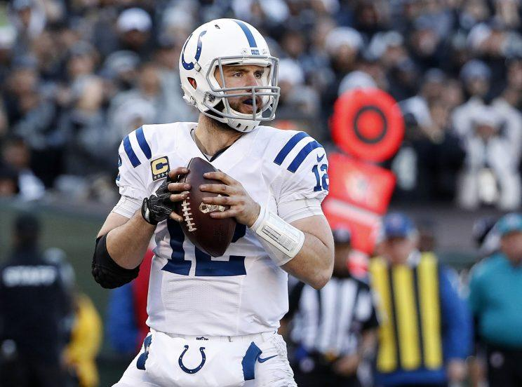 Andrew Luck's health will be a major concern in Colts camp. (AP)
