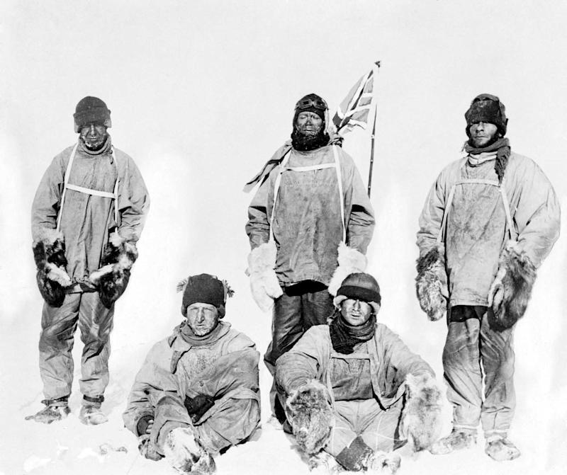 Scott's entire team perished on the return trip from the South Pole in 1912 (Image: SWNS)