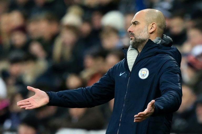 Pep Guardiola saw his Manchester City side's title challenge falter in a 2-1 defeat to Newcastle