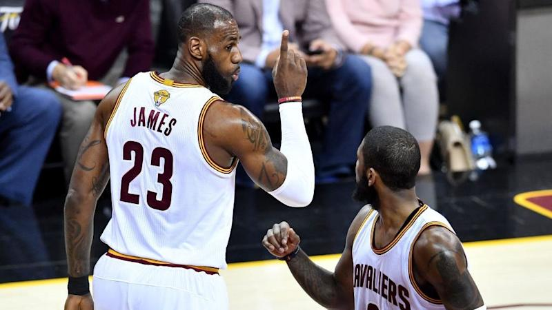 LeBron James called Kyrie Irving soft over injury in 2015 playoffs