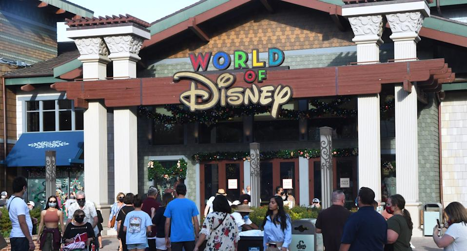 The Walt Disney World employee knew there was something suspicious so began asking yes or no questions. Source: Getty Images