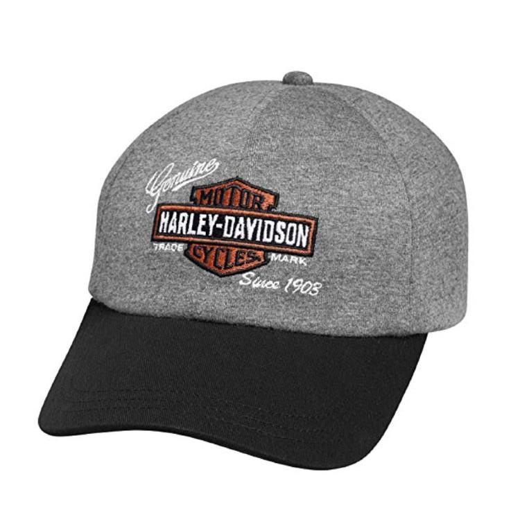 Harley-Davidson Official Women's Embroidered Logo Jersey Cap. (Photo: Amazon)