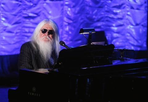 New York, NY, United States - Inductee Leon Russell performs during the Songwriters Hall of Fame awards in New York June 16, 2011.