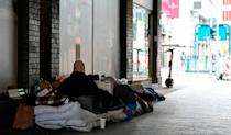 Charity groups put the number of homeless in Berlin at between 6,000 and 9,000