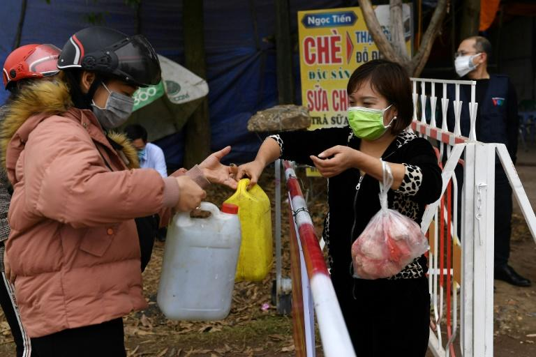 More than 10,000 people in villages near Hanoi have been quarantined in a bid to stop the coronavirus spreading
