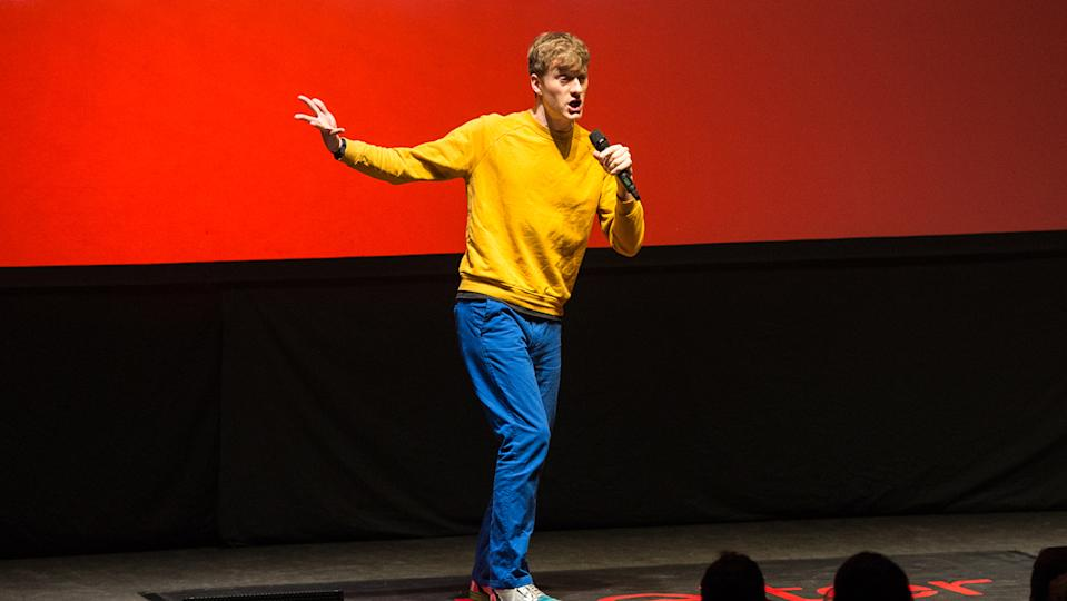 James Acaster said a gig he did at the Palladium was pure career suicide (Image: Getty Images)