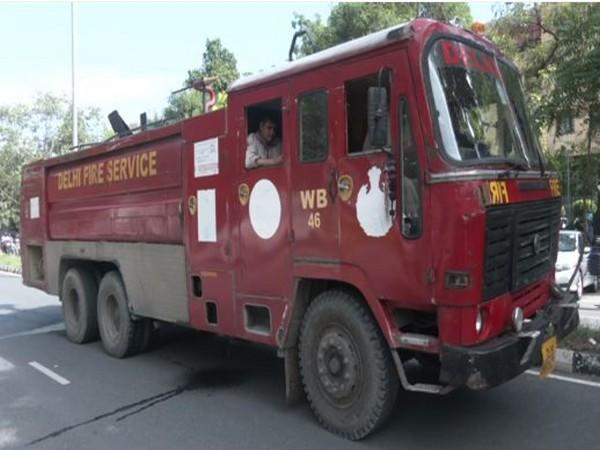 Fire engine at the site. (Photo/ANI)