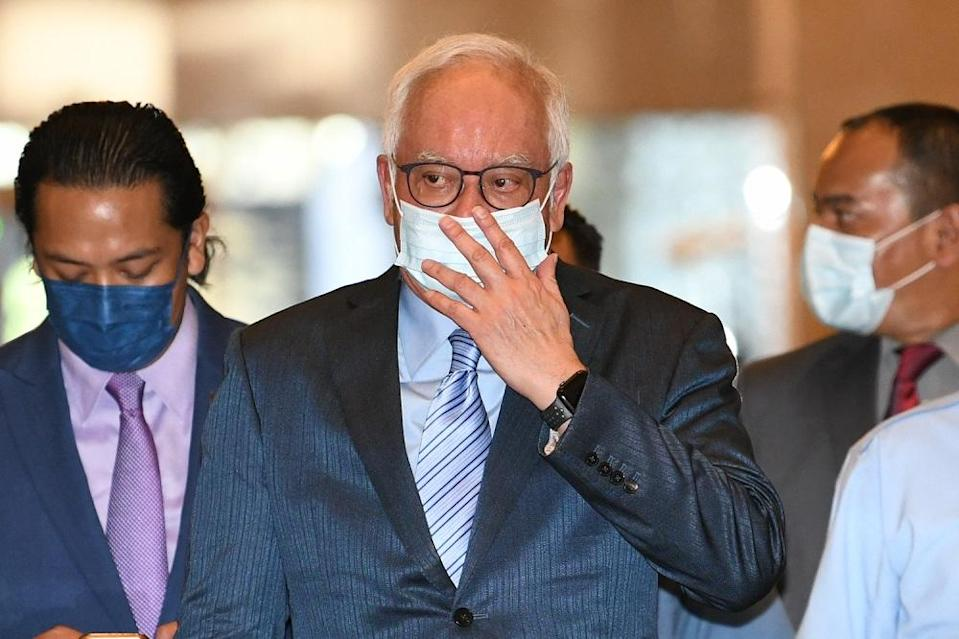 The former prime minister further alleged that the strongest evidence was the rapid move to have him declared bankrupt, which would disqualify him as an elected lawmaker. ― Picture by Shafwan Zaidon