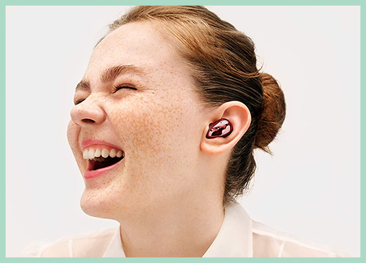 Red is our favorite color — rock these Samsung Galaxy Buds Live for just $120 (down from $170). (Photo: Amazon)
