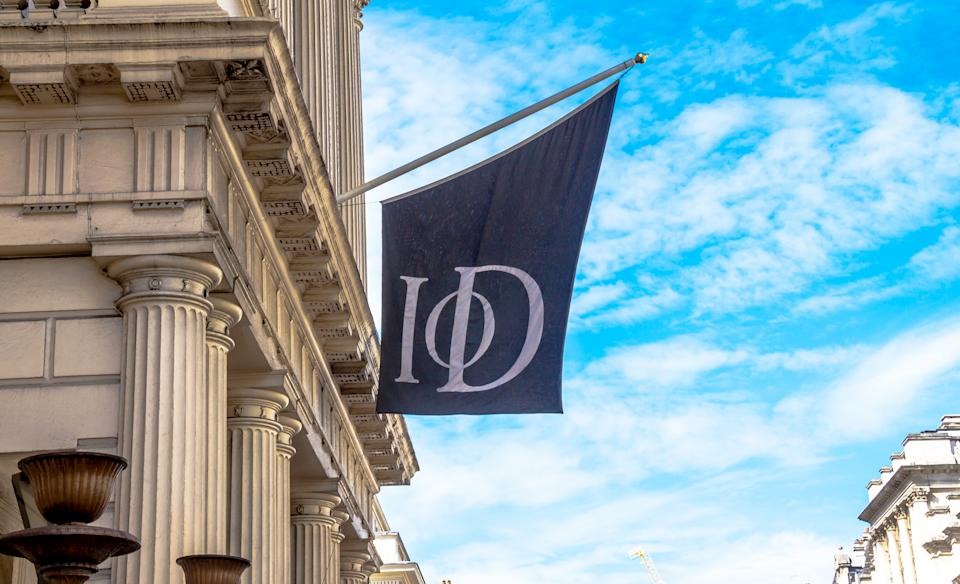 London,UK - June 4, 2015:  Institute Of Directors (IoD) Restaurant on Pall Mall street in central part of the city