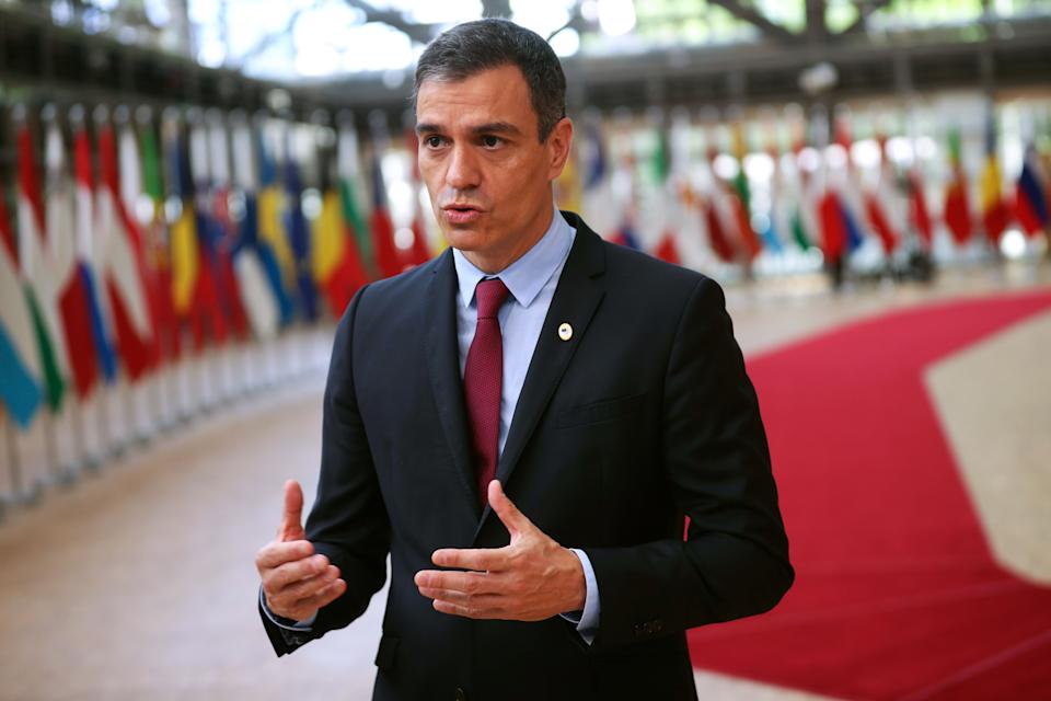 Pedro Sánchez en Bruselas. (Photo by FRANCISCO SECO/POOL/AFP via Getty Images)