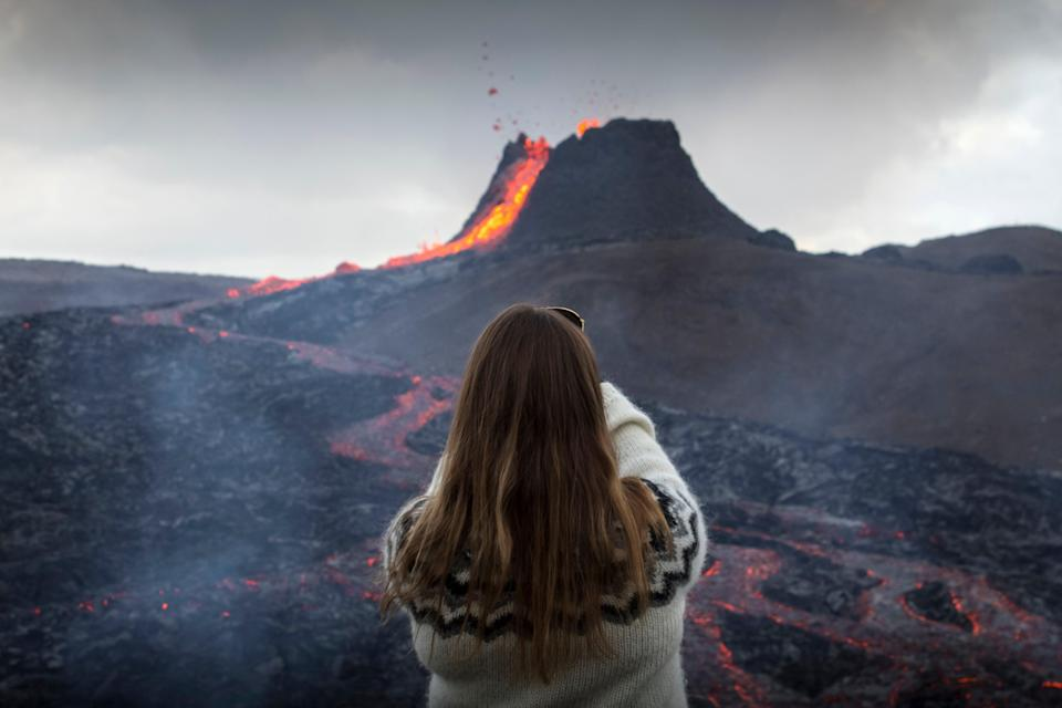 Iceland's volcano recently attracted more touristsMarco Di Marco