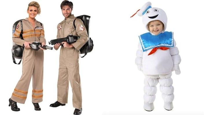Don some coveralls and turn your toddler into the Stay Puft Marshmallow Man.