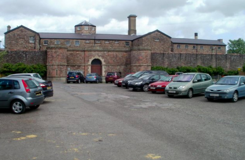 Gemma Brean met Stuart Mark Davies, who was serving a five-year sentence for possession of class A drugs, while she worked at HM Prison Prescoed in Monmouthshire. (Geograph)