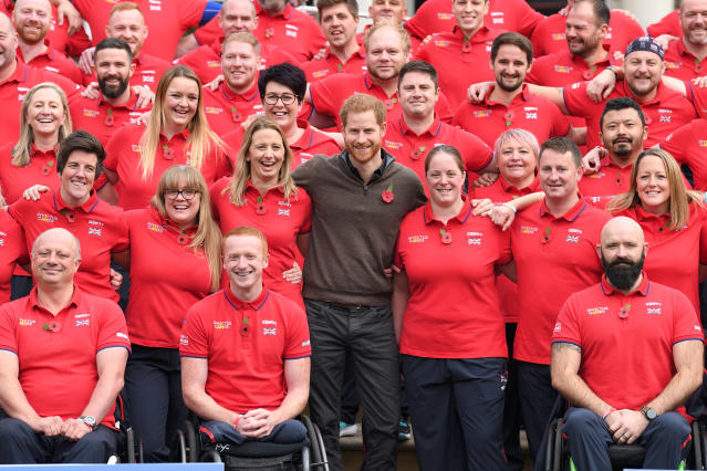 Prince Harry had already announced the UK team for the 2020 games. (Getty Images)