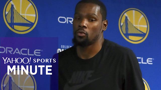Yahoo Sports Minute recaps top stories including Kevin Durant having a fractured rib, Tyrann Mathieu signing with the Texans and Jose Altuve reportedly signing a $151M extension with the Astros.