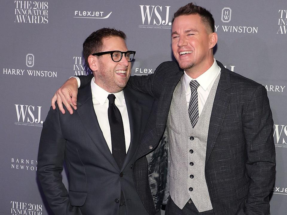 Jonah Hill and Channing Tatum in 2018.