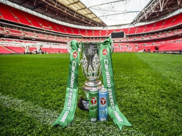 Carabao Cup trophy (Photo/ EFL Communications Twitter)