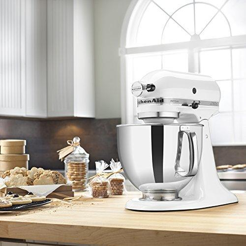 """<p><strong>KitchenAid</strong></p><p>amazon.com</p><p><strong>$279.35</strong></p><p><a href=""""http://www.amazon.com/dp/B00005UP2K/"""" rel=""""nofollow noopener"""" target=""""_blank"""" data-ylk=""""slk:Shop Now"""" class=""""link rapid-noclick-resp"""">Shop Now</a></p><p>You know you want one, and not just because it's countertop eye candy. Our Test Kitchen staff <a href=""""https://www.goodhousekeeping.com/home-products/a27056897/macys-kitchenaid-sale/"""" rel=""""nofollow noopener"""" target=""""_blank"""" data-ylk=""""slk:loves"""" class=""""link rapid-noclick-resp"""">loves</a> the <a href=""""http://www.amazon.com/dp/B00005UP2K/"""" rel=""""nofollow noopener"""" target=""""_blank"""" data-ylk=""""slk:KitchenAid Stand Mixer"""" class=""""link rapid-noclick-resp"""">KitchenAid Stand Mixer</a> because it's """"the longest-lasting brand on the market,"""" whipping up everything from cakes to pasta to bread. Now to decide between Pistachio and Lavender Cream...</p>"""