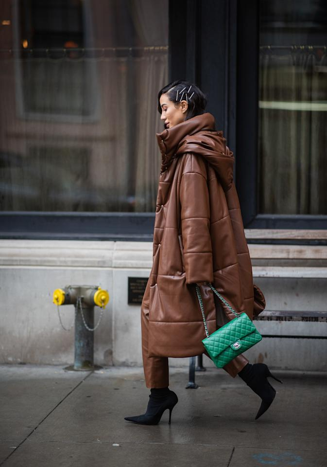 0f5fae88b24 4 Street-Style Trends From Fall 2019 Fashion Week You Can Shop for Under   100