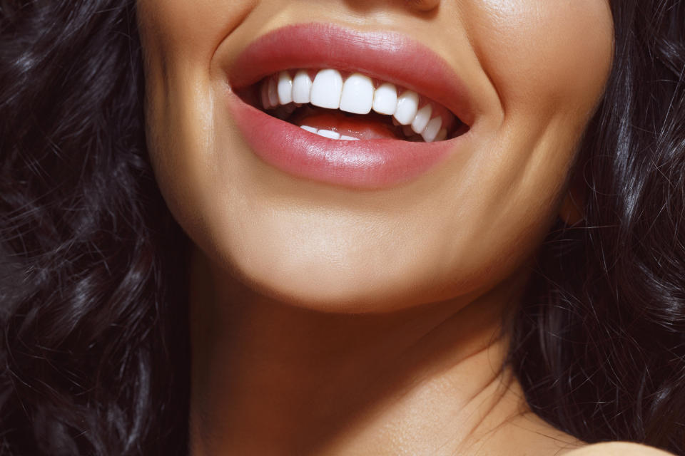 Save on having the bright white smile on your dreams. (Photo: Getty)