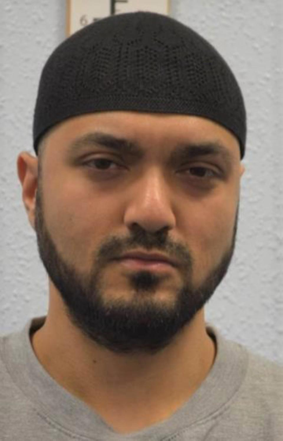 Undated handout photo issued by the Metropolitan Police of former Uber driver Mohiussunnath Chowdhury who has been jailed at Woolwich Crown Court for life with a minimum term of 25 years after being convicted of planning a terror attack at busy London tourist attractions.