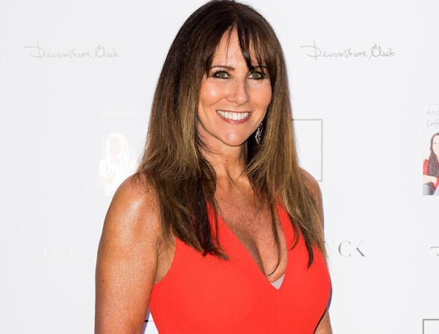 Linda Lusardi has tested positive for coronavirus. (Getty Images)