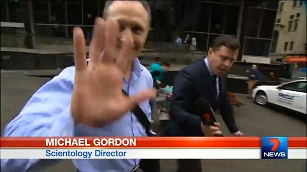 Scientology's Company Director and Senior manager Michael Gordon is a figure of authority in the group. Photo: 7 News