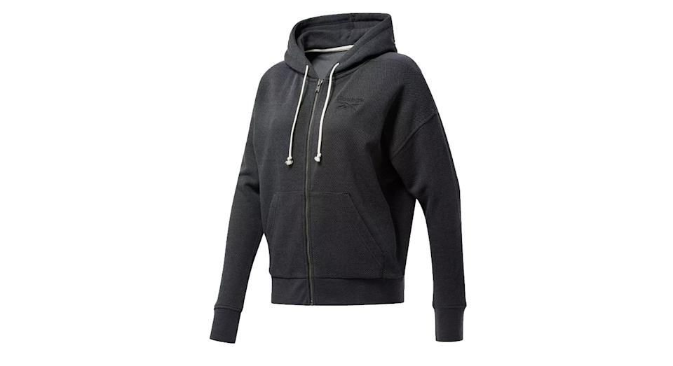 Reebok Training Essentials Full Zip Logo Training Hoodie