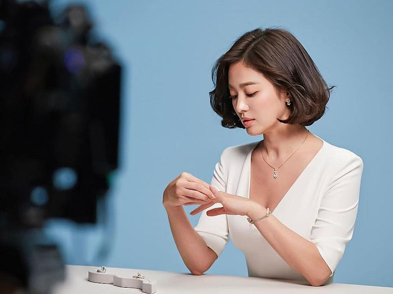 Unable to bear the defamation and insults, South Korean actress Song Hye-kyo through her agency UAA has lodged a police report and will proceed to sue perpetrators. — Picture courtesy of Instagram/ kyo1122